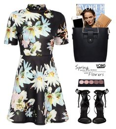 Floral dress - Yoins by yexyka on Polyvore featuring Schutz, Moschino, yoins and yoinscollection
