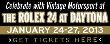 Ticket packages for Rolex 24 at Daytona