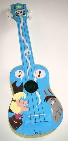 Donkey ukulele? Sure!