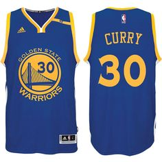 0af969558963 Keep on trusting your idol with Golden State Warriors Anniversary 42 Patch  Swingman Road Blue Jersey Stephen Curry