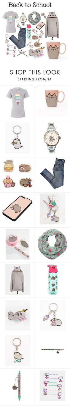 """""""#PVxPusheen"""" by jelena-topic5 ❤ liked on Polyvore featuring Pusheen, Cheap Monday, contestentry and PVxPusheen"""