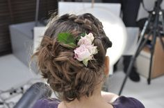 #flower #hair #hairstyle #fashion #spring #summer