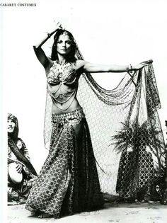 "Beautiful 1970's bellydance costume from ""Lion in the Sun""catalogue. I believe this costume was in the 1974-1975 printing."