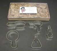 Girlie Girl Cookie Cutters, perfect for a spa birthday party. - Click image to find more Weddings Pinterest pins