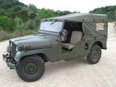 Jimmy Parks 1961 M170 Jeep