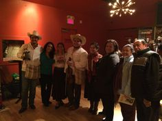 Book launch for Alec Dempster's Lotería Huasteca. Gladstone Hotel, November 2, 2015. Photo by Miles Dempster.