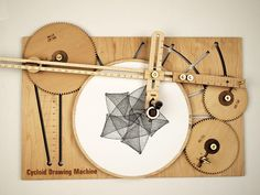 Sketch Intricate Designs with A Hand-Cranked Drawing Machine   The Creators Project