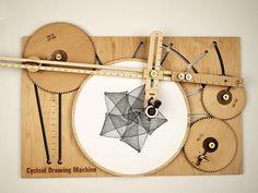 Teken wonderlijke wiskundige patronen met deze ingenieuze tekenmachine   The Creators Project