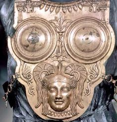 The Ksour Essef cuirass, buried in 3rd century BC Carthage but made in Campania and likely brought to Africa by a Southern Italic mercenary.