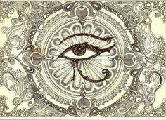 Protective eye tattoo