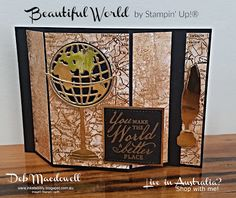 Fancy Fold Cards, Folded Cards, Window Cards, Embossed Cards, Birthday Cards For Men, Fathers Day Cards, Masculine Cards, Stamping Up, Worlds Of Fun