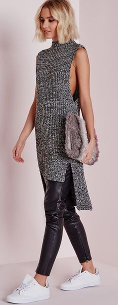 New crochet sweater vest pattern design Ideas Knit Fashion, Sweater Fashion, Look Fashion, Fashion Outfits, Womens Fashion, Fall Fashion, Designer Knitting Patterns, Knitting Machine Patterns, Knitting Designs