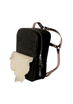 THEOREM 1  Mrs Herskin handcrafted backpack