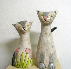 Статуэтки - котики.