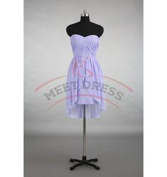 Charming Homecoming Dresses,Chiffon Homecoming Dress,Pleat Homecoming Dress,Sweetheart Homecoming Dress