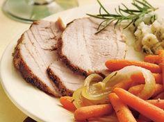 Rosemary Pork Roast with Carrots | Gluten Freely