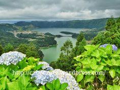 Uma paragem nos Açores: Ilha de São Miguel - via cabonorte 09.03.2015   Conselhos para fazer um percurso livre num paraiso no meio do Atlántico Foto: Lagoa das Sete Cidades