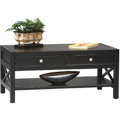 Anna Collection Coffee Table | Overstock™ Shopping - Great Deals on Linon Coffee, Sofa