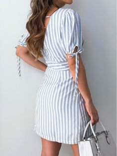 Beautiful Dresses, Nice Dresses, Casual Dresses, Short Dresses, Fashion Dresses, Weekend Dresses, Dresses Kids Girl, Outfit Combinations, Chic Dress