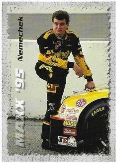 Racing-nascar Joe Nemechek Signed 1992 Traks Collector Card Traveling Fan Apparel & Souvenirs