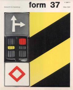form N° 37. Mar 1967. Cover: Karl Oskar Blase. © Verlag form GmbH & Co. KG