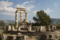 Delphi Greece, Archaeological Site, Marina Bay Sands, Roman, Stock Photos, Travel, Image, Viajes, Trips