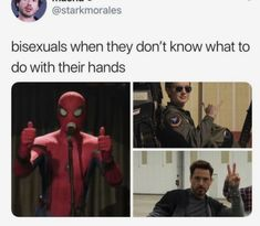 Bi Memes, Stupid Funny Memes, Memes Humor, Funny Relatable Memes, Hilarious, Bisexual Pride, Marvel, Really Funny, Random