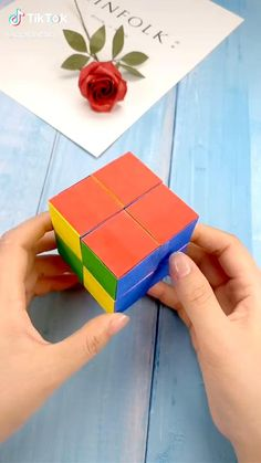 Origami video. Easy. Pile of boxes.  #diy #origami #fashion #awesome #hamdmade #art Cool Paper Crafts, Paper Crafts Origami, Diy Crafts Hacks, Diy Crafts For Gifts, Creative Crafts, Fun Crafts, Instruções Origami, Diy Art, Fashion Art