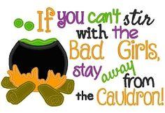 Big Girl Cauldron Applique - 3 Sizes! | What's New | Machine Embroidery Designs | SWAKembroidery.com Nobbie Neez Kids