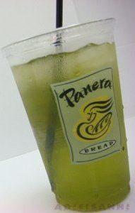 Panera Iced Green Tea