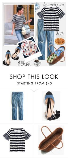 """Let's have Brunch!"" by shoaleh-nia ❤ liked on Polyvore featuring J.Crew and Guide London"
