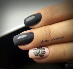 Hey there lovers of nail art! In this post we are going to share with you some Magnificent Nail Art Designs that are going to catch your eye and that you will want to copy for sure. Nail art is gaining more… Read Dog Nail Art, Dog Nails, Nail Art Animals, Cute Nails, Pretty Nails, Paw Print Nails, Nail Deco, French Tip Nail Art, French Tips