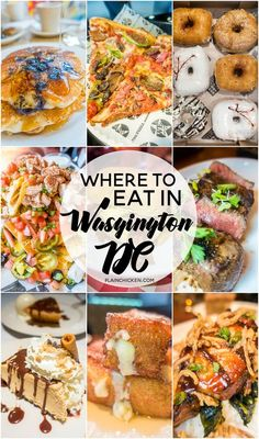 Where to Eat in Washington DC - we got tons of amazing recommendations from a local! We ate some of the best food EVER! Burgers, Pizza, Steak, DOUGHNUTS, Waffles - something for everyone!
