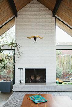 Jonya & Brad's Modern A–Frame House Tour | Apartment Therapy