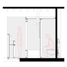 Idee kleine badkamer - Koos Jan van der Velden