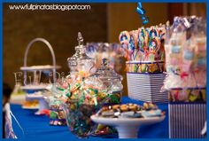 All the sweets u dream of are right there so so so........ YUMMY!!!!
