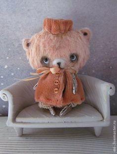 Мишка Тедди ручной работы -MI-. Handmade. $27