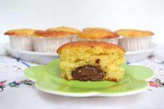 Ricette Muffin Muffin yogurt e nutella
