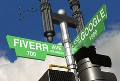 Create a Personalized Street Corner Sign from Fiverr