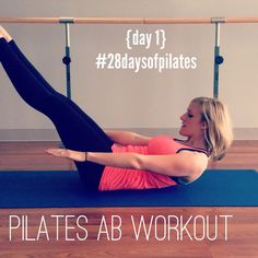 28 Days of (free!) Pilates: Day #1's video is up!