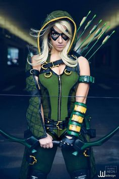 Cool Green Arrow cosplay                                                                                                                                                      More