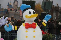 The cutest snowduck of them all! #disneylandparis