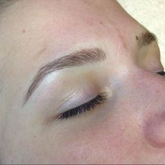 COMING SOON: Free hand microbladed eyebrows by Brooke! Permanent makeup coming…