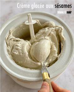 Crème glacée aux deux sésame (sans gluten, sans oeufs) | Cuisine en Scène, le blog cuisine de Lucie Barthélémy - CotéMaison.fr