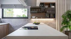 Projekt domu HomeKoncept-73 174,27 m2 - koszt budowy - EXTRADOM Plans Architecture, Modern House Plans, My Dream Home, Bungalow, Beach House, Pergola, Sweet Home, House Design, Kitchen