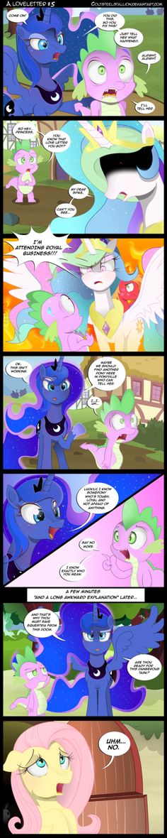 Here are the comics starring the princesses of equestria: celestia, Luna and cadence. Not shining armor because I don't think he is really royalty. Must admit that I haven't made many of these, sin...