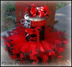 Girl Pirate Costume / Pirate Tutu Dress / Halloween on Etsy, $42.00