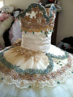 Ciao Bella heavily decorated tutu.