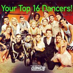 The Top 16 dancers!