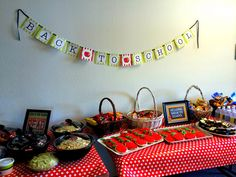 Back to School Teachers Luncheon From Marci Coombs Blog